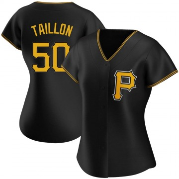 Authentic Jameson Taillon Women's Pittsburgh Pirates Black Alternate Jersey